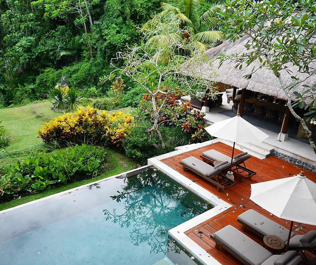 bali green swimming pool @thetravelista